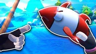 Я ПОЙМАЛ ОЧЕНЬ СТРАННУЮ РЫБУ! - Crazy Fishing VR - HTC Vive ВИРТУАЛЬНАЯ РЕАЛЬНОСТЬ