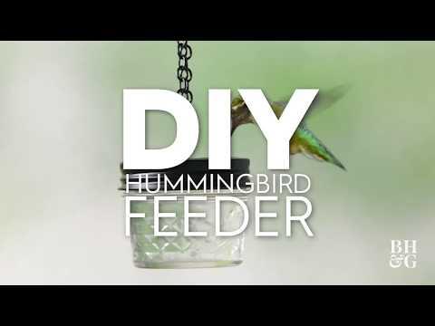 DIY Hummingbird Feeder | Made By Me - Garden | Better Homes & Gardens