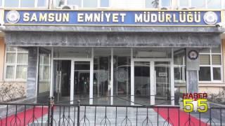 SAMSUN'DA YANKESİCİ KADIN POLİSTEN KAÇAMADI