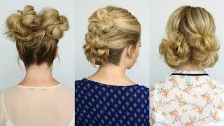 5 Summer Mini Bun Hairstyles | Missy Sue