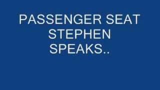 Passenger Seat by Stephen Speaks With Lyrics