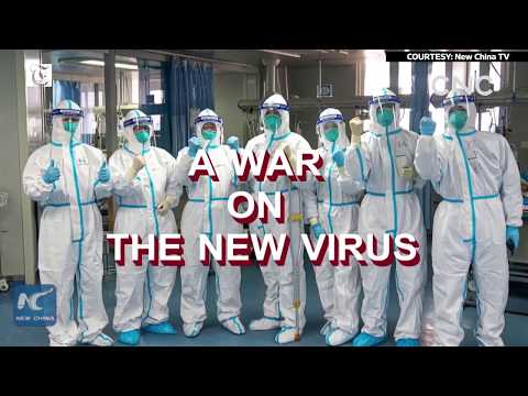 A war on the new virus