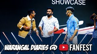 Warangal Diaries Youtube Fanfest Performace 2019 | Hyderabadi Comedy
