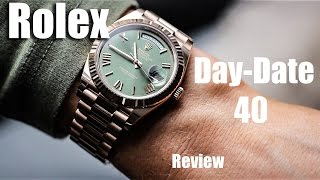 Rolex Day-Date 40 Rose Gold Review
