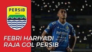 Febri Hariyadi Menjadi Raja Gol Persib Bandung di Liga 1 2019