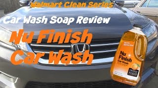 Walmart Clean Series review of Meguiars Gold Class Car Wash