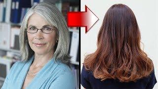 Wie du graue Haare auf natürliche Weise abdeckst!