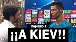 Con CRISTIANO RONALDO rumbo a Kiev   Vlog 74
