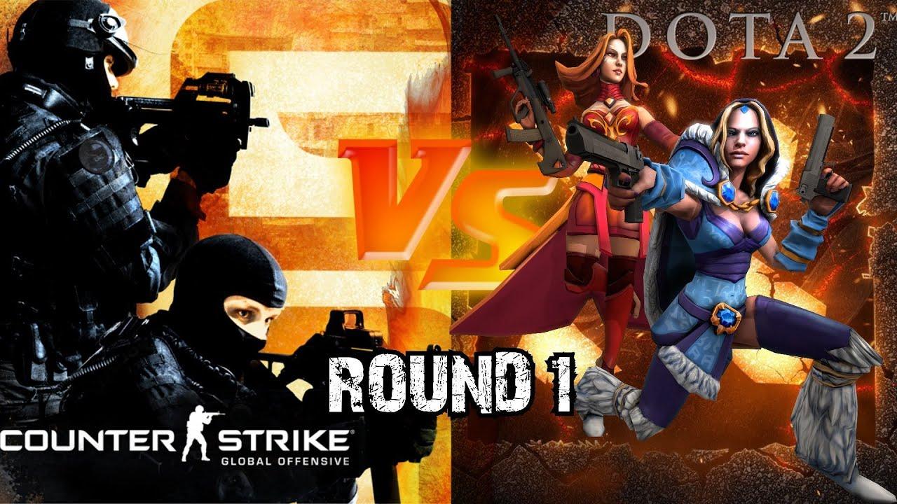 Khi hero DotA 2 chơi Counter Strike