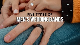 The 5 Types Of Mens Wedding Bands – Which Metal Is Best For You? | Modern Gents Trading Co.