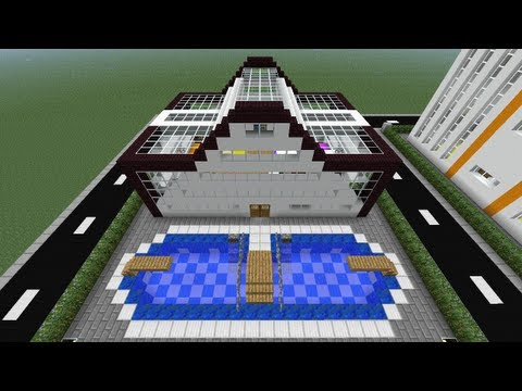 Download link youtube minecraft tutorial of how to build for Classic house tutorial