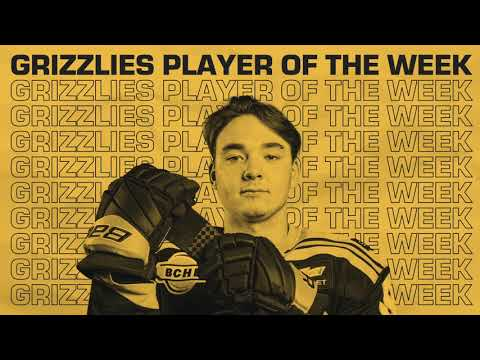 Jake Veilleux | April 25th | Grizzlies Player of the Week