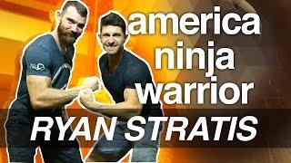 Alpha M. Schooled By American Ninja Superstar Ryan Stratis | Ninja Warrior Workout