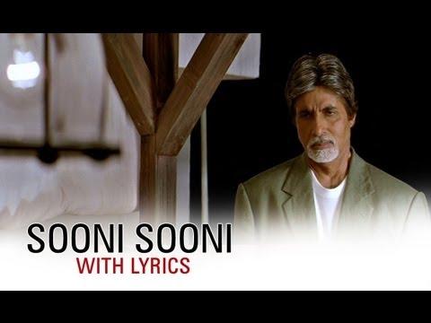 Sooni Sooni (Song With Lyrics) | Cheeni Kum | Amitabh Bachchan & Tabu