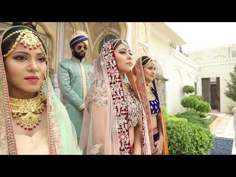 Bridal dress Shoot Jaipur, 2018. Photography by Karan Chandolia