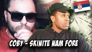 BALKAN RAP REACTION | COBY   SKINITE NAM FORE (OFFICIAL VIDEO)