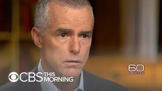 "Andrew McCabe tells ""60 Minutes"" why he opened investigations involving Trump"