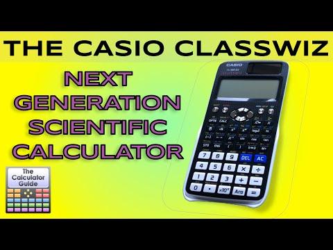 Casio ClassWiz – Next Generation Scientific Calculator – Review fx-991EX fx-570EX 991EX 570EX