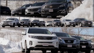 2014 Three Row Crossover / SUV Comparison