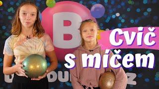GYMDUO Barča&Verča | Triky s míčem