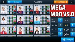 Dream League Soccer 2018 V5.0 Mega Mod (All Players Unlocked + Unlimited Coins)