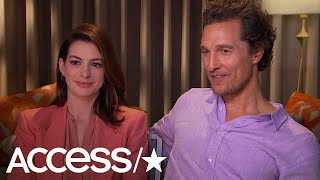 Anne Hathaway Thinks The Oscars Need To Change While Matthew McConaughey's Producer Recommendation W
