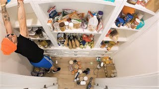 reorganizing my entire pantry
