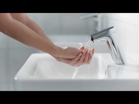 Aanraakvrije kraan voor water en zeep