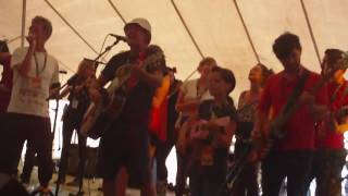The Bluebells & Blochestra - 'Young at Heart' The Solus Tent @ Wickerman Festival 2011