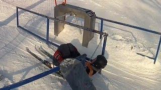 Смотреть онлайн Крутая подготовка лыжника