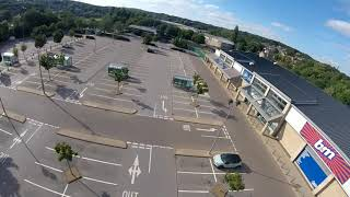 No Flips carpark dwelling #fpv #freestyle