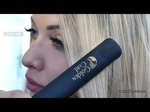 The Gold Straightener by Golden Curl - How To Style
