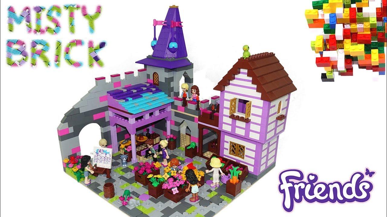 Lego Friends Romantic Castle by Misty Brick.