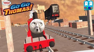 The Amazing Jump by Diesel vs The Red Engine James - Thomas & Friends: Go Go Thomas!