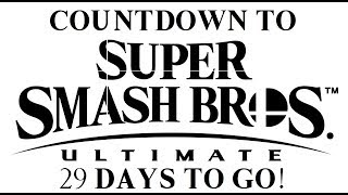 Countdown to Ultimate! SSB Wii U - Classic & All-Star with Corrin (29 Days To Go)