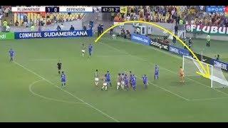 Golaço! GOL OLÍMPICO SORNOZA - Fluminense 2x0 Defensor - Sul americana 2018