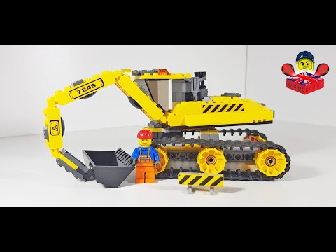Vidéo LEGO City 7248 : La pelleteuse