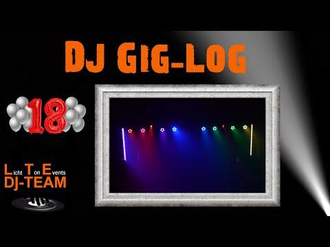 Jay´s 18. Geburtstag   DJ Gig Log
