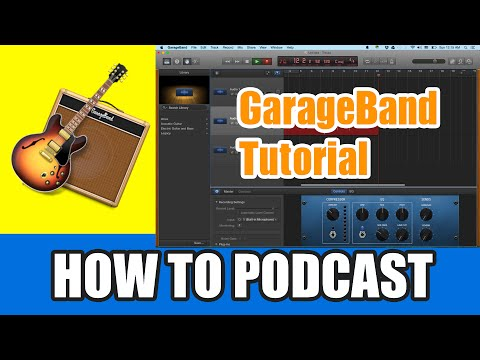 GarageBand Tutorial 2015 – How to Record a Podcast with GarageBand