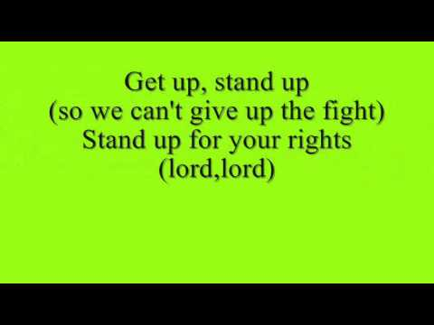Bob Marley - Get Up Stand Up + Lyrics