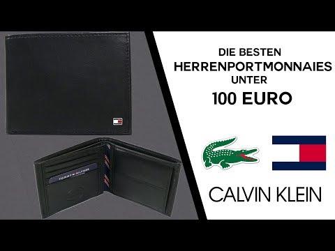 DIE BESTEN  HERREN PORTEMONNAIES UNTER 100€