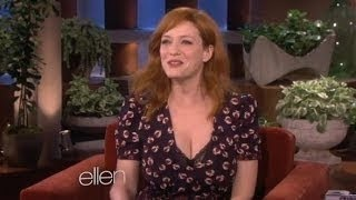 Christina Hendricks on the End of 'Mad Men' on Ellen show