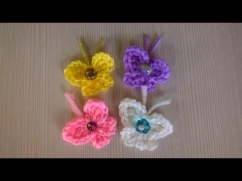 Farfalla Uncinetto Amigurumi Tutorial Butterfly Crochet Mariposa