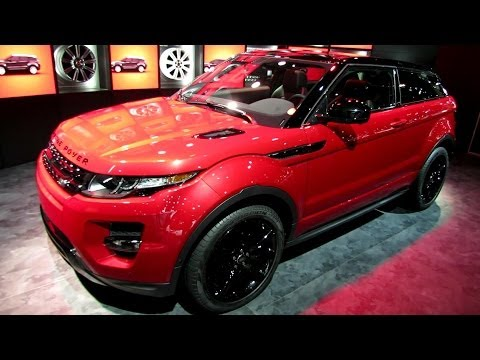 2014 Range Rover Evoque Coupe - Exterior and Interior Walkaround - 2013 LA Auto Show