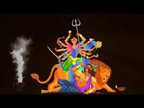 Durga Puja Special - Wishes || BAJLO TOMAR ALOR BENU