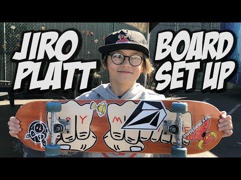 JIRO PLATT BOARD SET UP AND INTERVIEW !!!