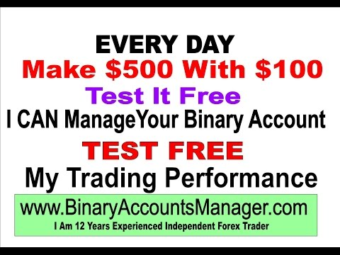Handelsbedingungen für binäre optionen