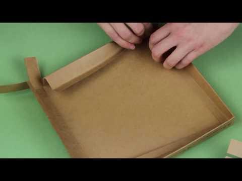 Сборка подарочной коробочки для блина пуэра