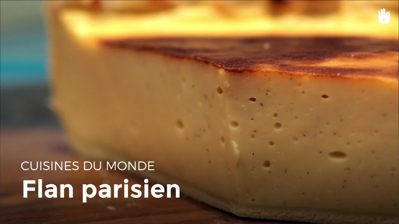 Flan parisien apprendre cuisiner sikana - Apprendre a cuisiner facile ...