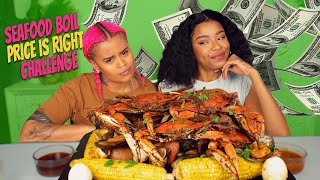CRAB MUSSELS CLAMS SEAFOOD BOIL MUKBANG + PRICE IS RIGHT CHALLENGE